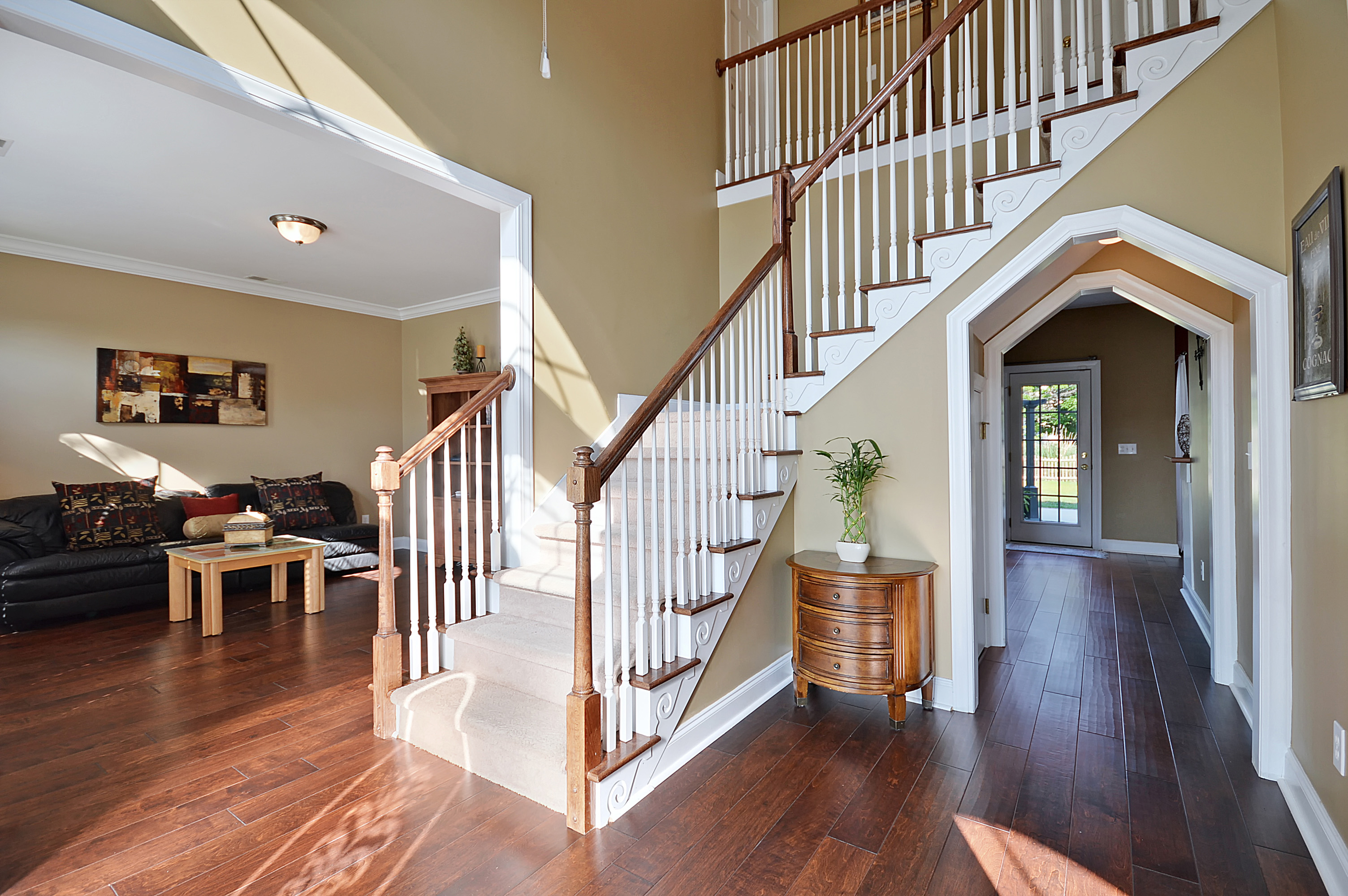 2 Story Foyer Entrance