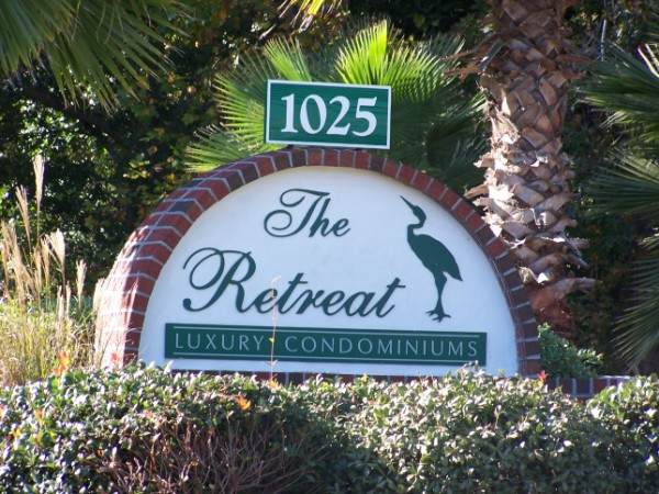 Welcome Sign to The Retreat