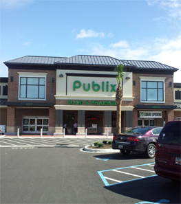 New Publix Storefront - The Market at Cane Bay - Summerville SC
